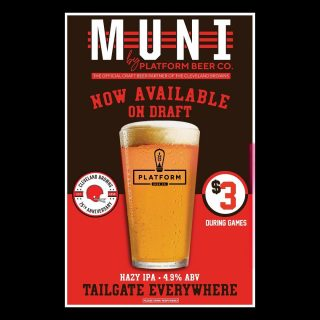 Muni by Platform is now tapped! Join us for the game!