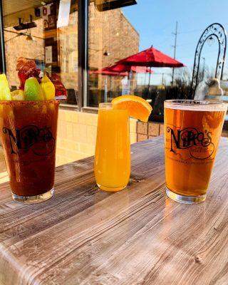 SUNDAY FUNDAY •Niko's Spicy Bloody Marys •Mimosas •$3 Ohio Taps
