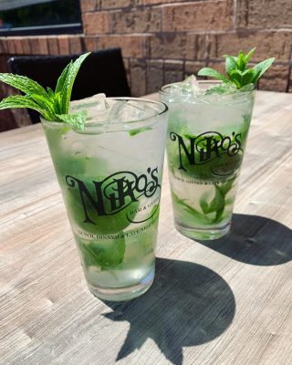 Come enjoy a refreshing Mint Mojito 🌱