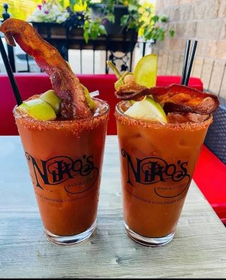 Start your day off with a Niko's Spicy Bloody Mary