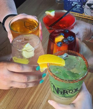 It's finally Friday! Come enjoy one of our specialty cocktails!